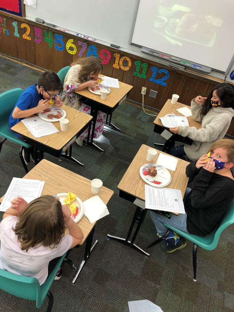 Fourth Grade Learns About the First Thanksgiving